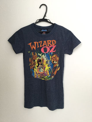 JUNK FOOD WIZARDOZ Tシャツ オズ