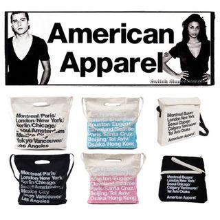アメリカンアパレル American Apparel トート