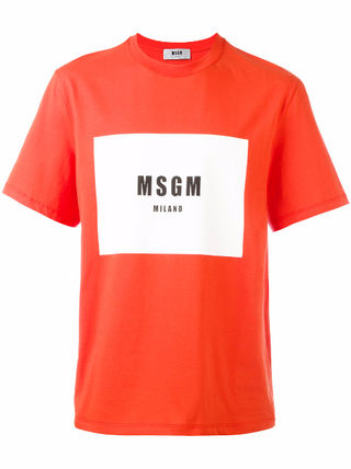 人気 MSGM エムエスジーエム Tシャツ  2枚セット