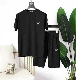 アルマーニ Tシャツ上下セットTシャツ&パンツ  セット販売