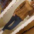 LOWRYS FARM*fringe knit
