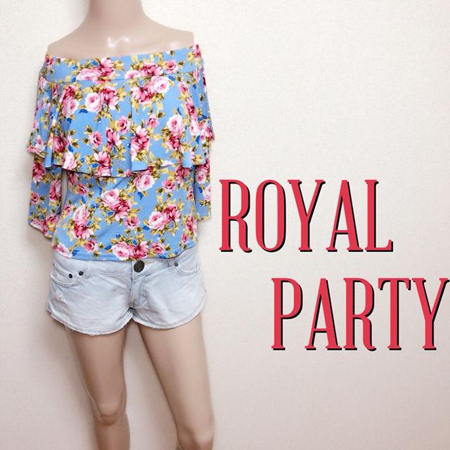 爆かわロイヤルパーティー やわらかオフショルトップス(ROYAL PARTY(ロイヤルパーティー) ) - フリマアプリ&サイトShoppies[ショッピーズ]