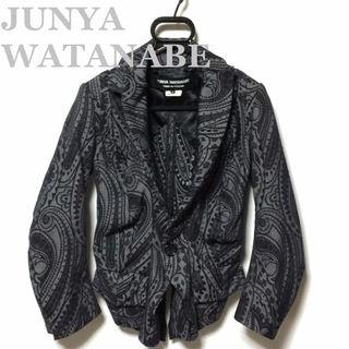 ジュンヤワタナベ☆07SSペイズリー柄デニムジャケット