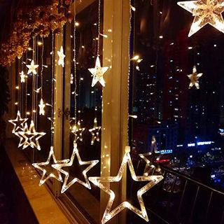 TopYart-星型装飾LEDライト LED 星 2.5m