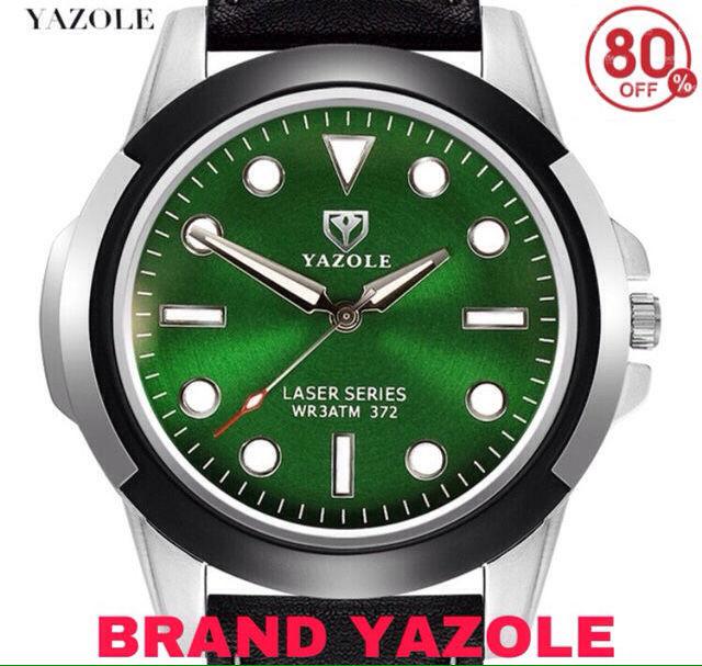 定価9800円!80%OFF yazole腕時計 - フリマアプリ&サイトShoppies[ショッピーズ]