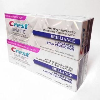 [116g×2個] Crest 3D ホワイトニング歯磨き粉