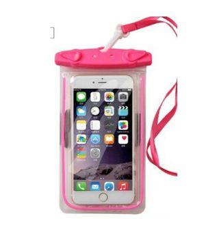 防水ケース iphone7 plus 携帯電話  ピンク