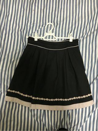プライムパターン 茶色スカート