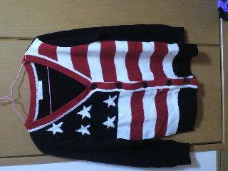 アメリカの国旗 ニット