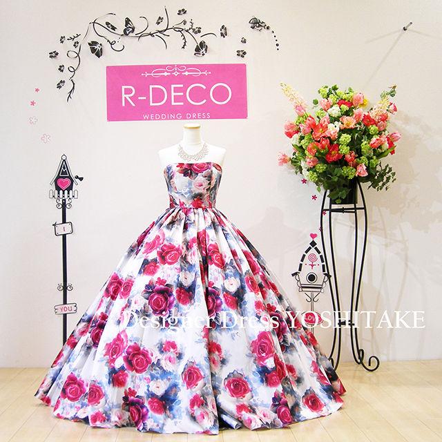 ウエディングドレス(パニエ無料) 花柄ドレス - フリマアプリ&サイトShoppies[ショッピーズ]