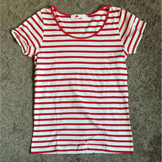 E hyphen world galleryボーダーTシャツ