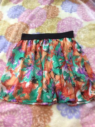 CALM 花柄スカート