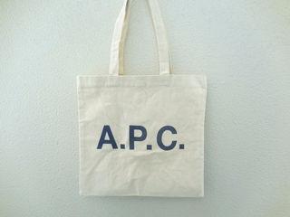 A.P.C. キャンバストートバッグ エコバッグ
