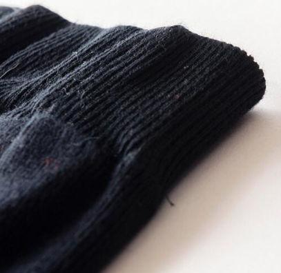 暖かいウール混ぜ タイトスカート