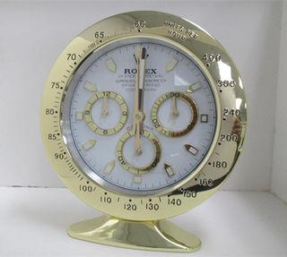 ロレックス 掛け時計 置時計   白金 未使用