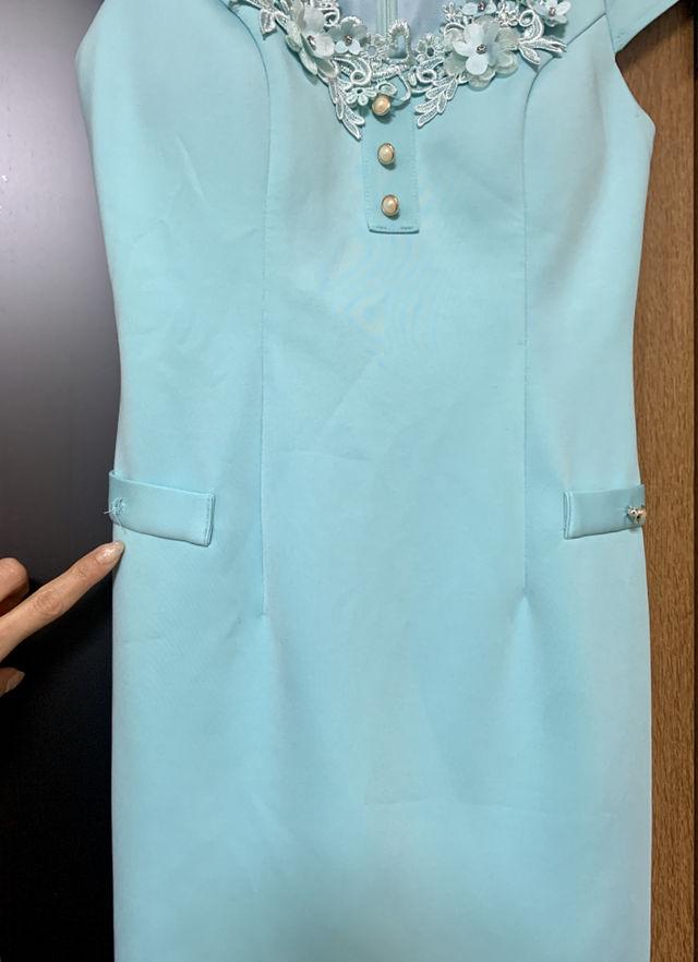 ミニワンピースドレス美品(難あり)激安