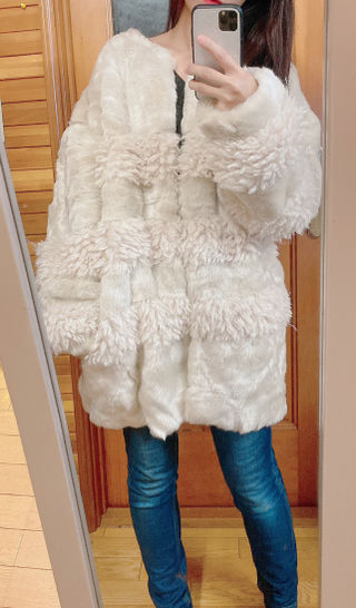 moussyファーコート