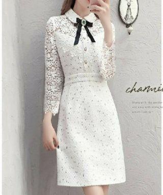 □ホワイトレ□スワンピース結婚式二次会パーティー