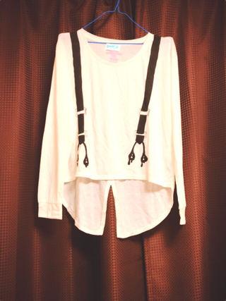 【未使用】LB-03ダンス サスペンダーTシャツ