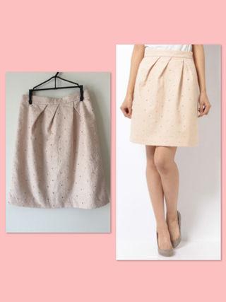 【レッセパッセ】新品 刺繍スカート