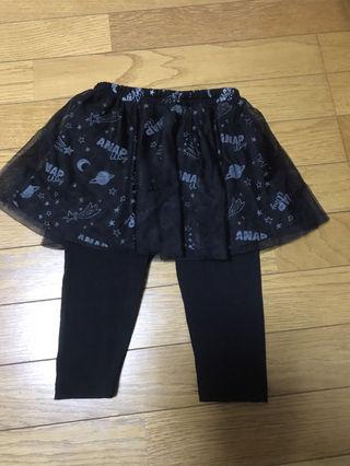 [新品] ANAP way スパッツ付きスカート 90