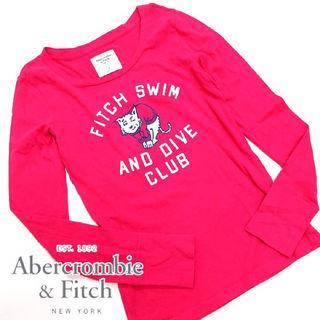 美品 アバクロンビー&フィッチ ロングスリーブTシャツO33