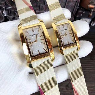 大美品 BURBERRY ウォッチ シャレな腕時計