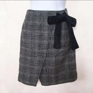 マジェスティックレゴン  スカート  リボン付きスカート