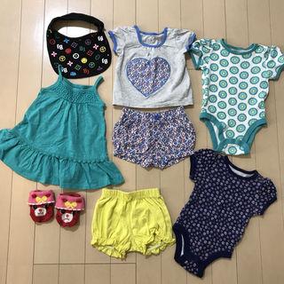 子供 3-6ヶ月 セット 暖かい季節