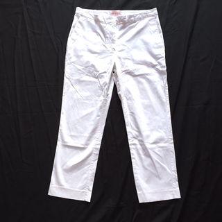 オーガニックコットンパンツ  H&M ホワイトパンツ