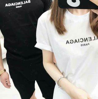 2着BALENCIAGA 2018夏新作 男女兼用Tシャツ