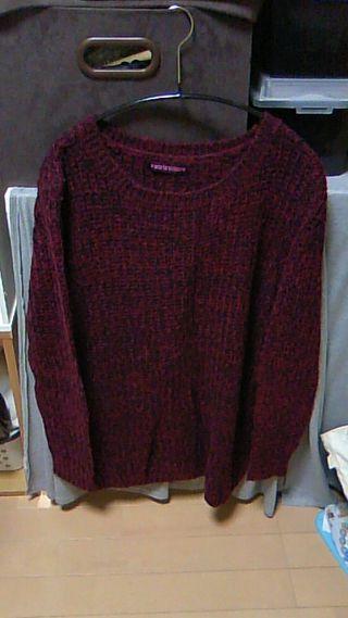 美品♪ざっくりニットセーター