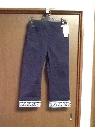 マリアーニ  裾刺繍パンツ