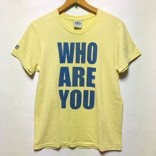 TMT BIG 10 WHO ARE YOU ロゴ Tシャツ