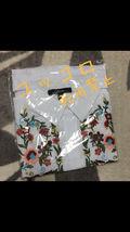 残り2限りZARA系白 シャツ花柄刺繍