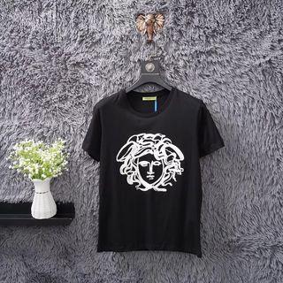 ベルサーチ春夏Tシャツカップル 半袖カットソー