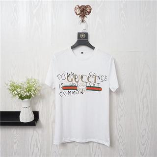 グッチ春夏Tシャツカップル 半袖カットソー