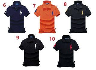 送料無料新品POLOポロ ラルフローレン男性用Tシャツ15色