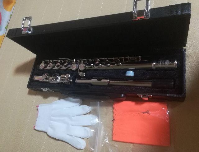 新品 フルート 管楽器 16穴 Cキー 高品質 専門ケース