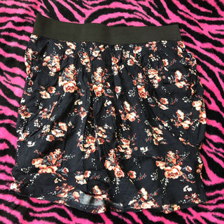 コルザ花柄スカート