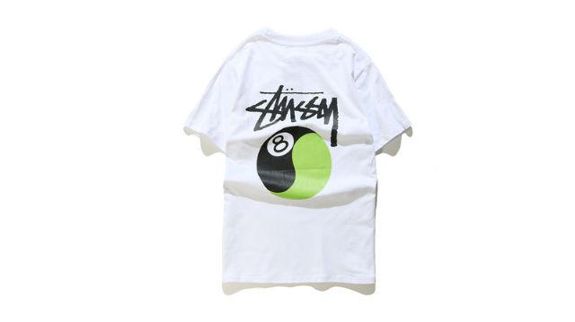 ステューシー Tシャツ 男女兼用 夏用 2色
