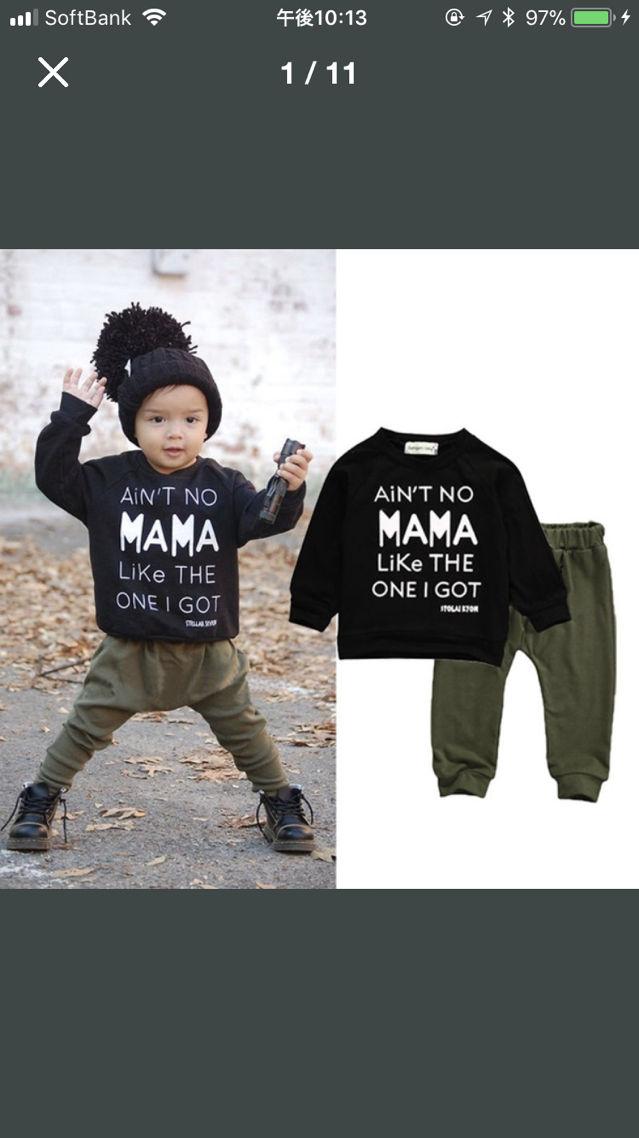 d84e84670a872 Instagramで大人気mama likeセットアップ(ノーブランド ) - フリマアプリ サイトShoppies ショッピーズ