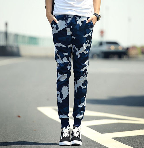 迷彩柄 パンツ メンズ ジョガーパンツ スキニー - フリマアプリ&サイトShoppies[ショッピーズ]