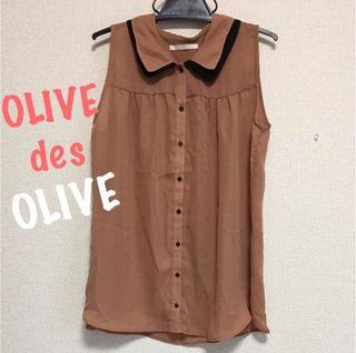OLIVEdesOLIVEノースリシャツ