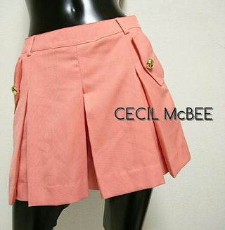 CECIL McBEE*プリーツキュロット