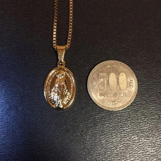 ネックレス ベネチアンチェーン 50cm 聖母マリア