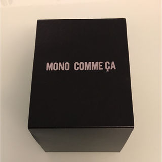 MONO COMME CA 腕時計ケース