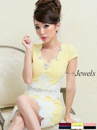 Jewels2ピース ドレス キャバ 新品 新作