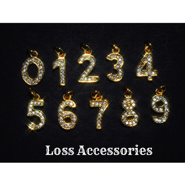 【高級】金色ナンバーアンクレット ネックレス リング e6