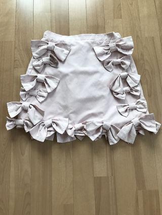 リボン   スカート